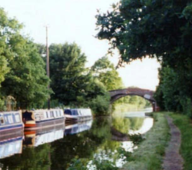 The Bridgewater Canal at Pickerings Bridge